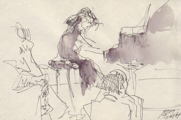 <span>Drawings</span>Amelia. Paris / Amelija. Paryžius