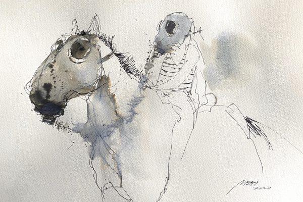 <span>Drawings</span>Rider / Raitelis