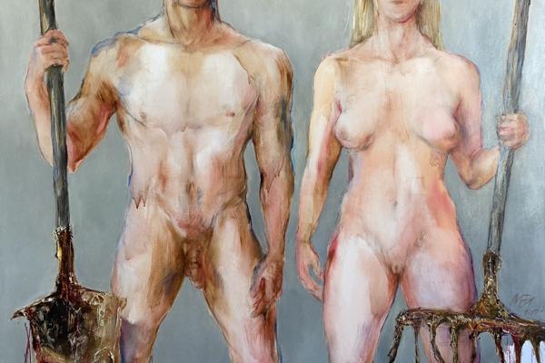 <span>Body</span>Managers of the world. Eve and Adam / Pasaulio tvarkytojai. Ieva ir Adomas